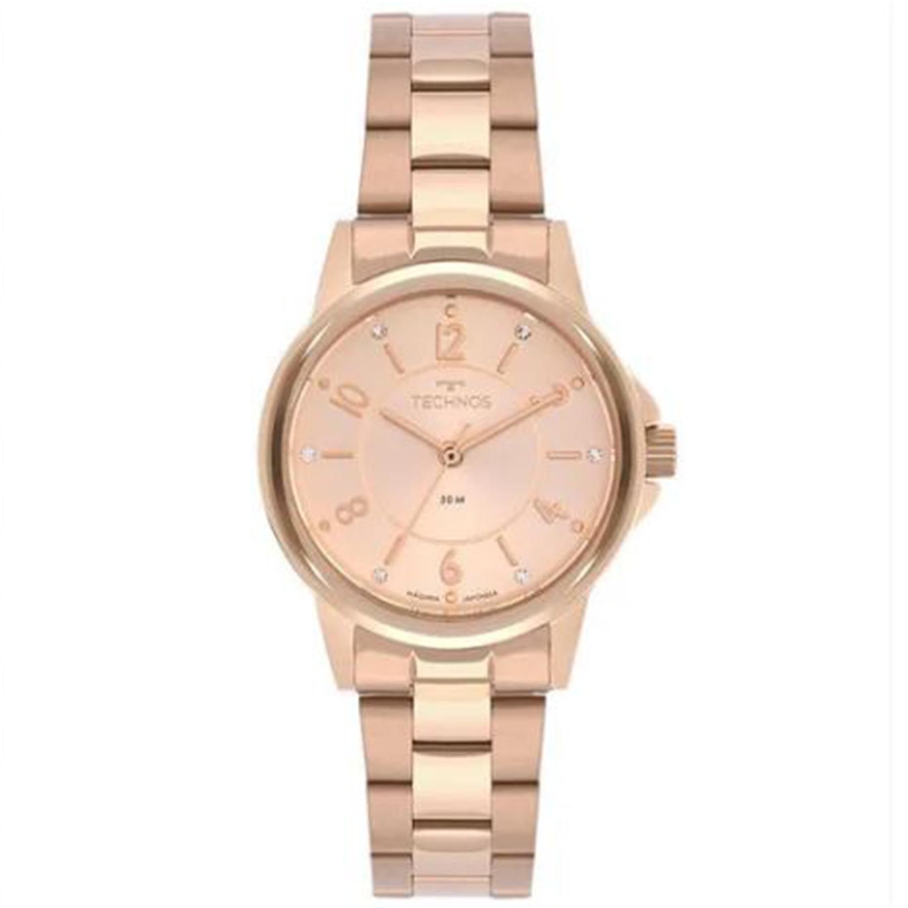 Relógio Technos Feminino Analógico Boutique Rosé 2035MTQ/1T