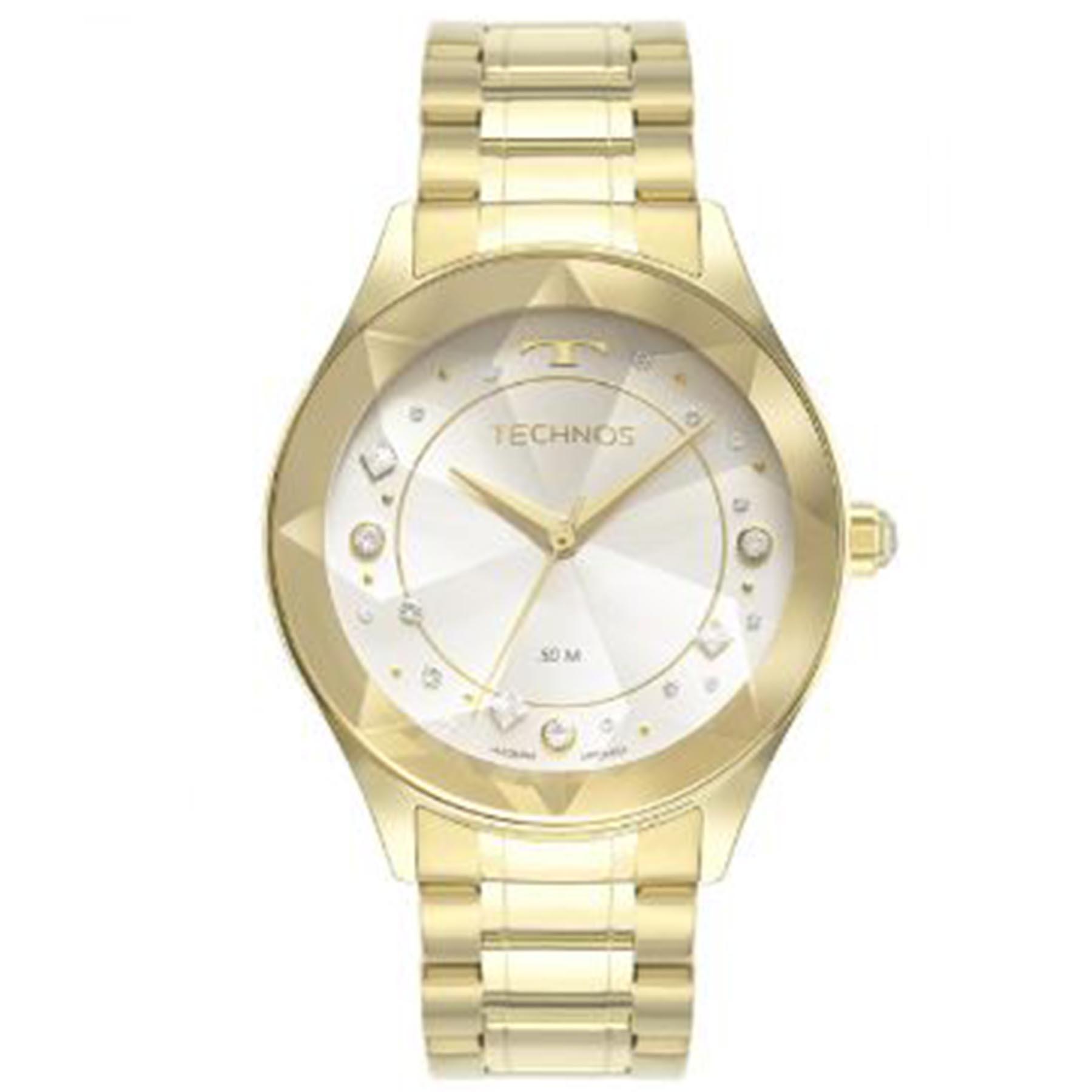 Relógio Technos  Feminino Analógico Dourado 2036MND/1K