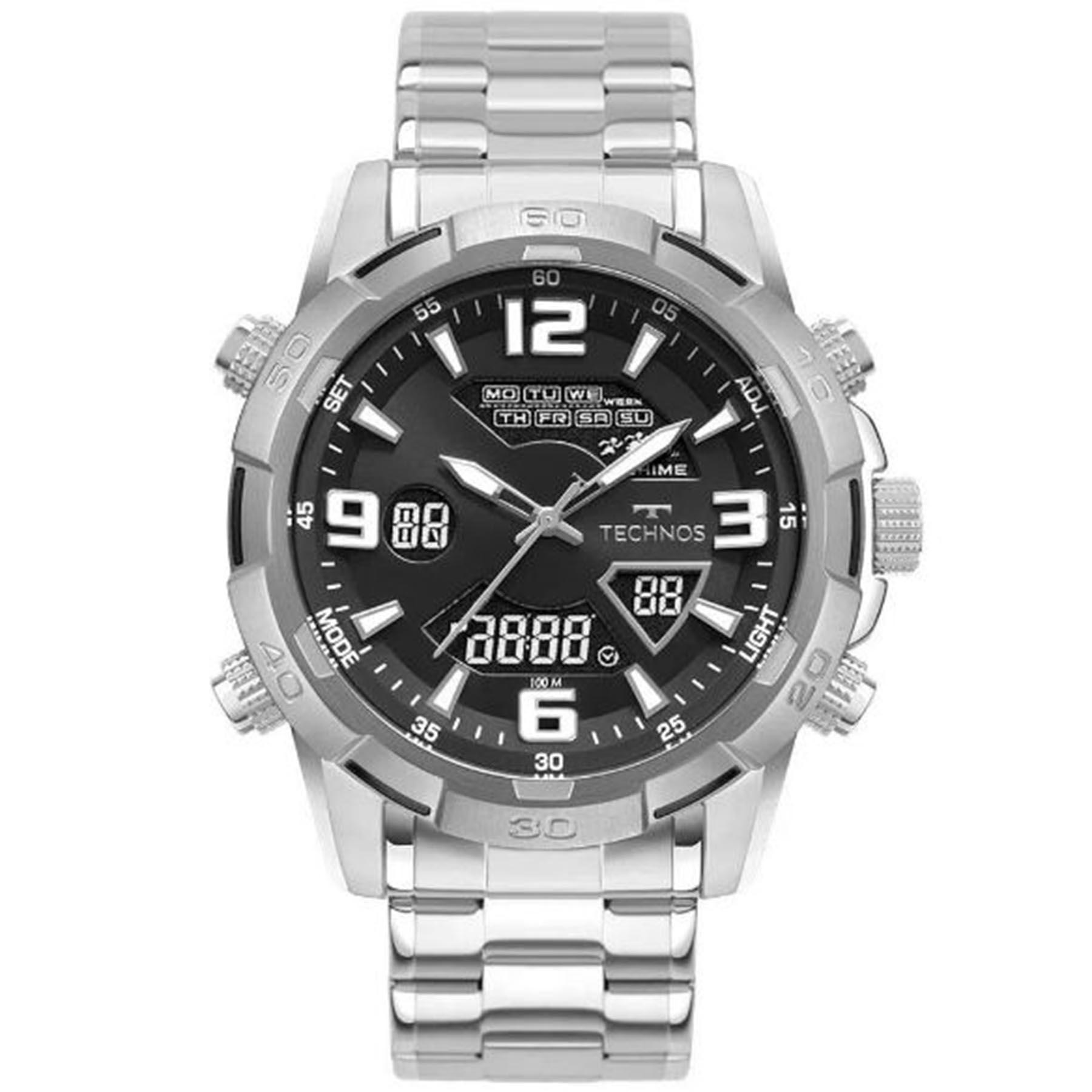 Relógio Technos Masculino Anadigi W23305AA/1P