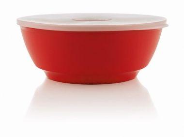 Saladeira Luna 1,8 L com Tampa Vermelho OU SLT220
