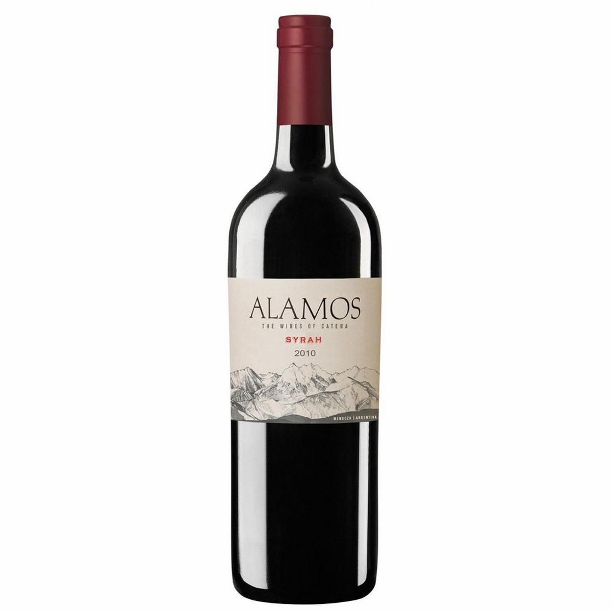 Vinho Argentino Tinto Alamos Syrah 2018 Catena Zapata 750ml