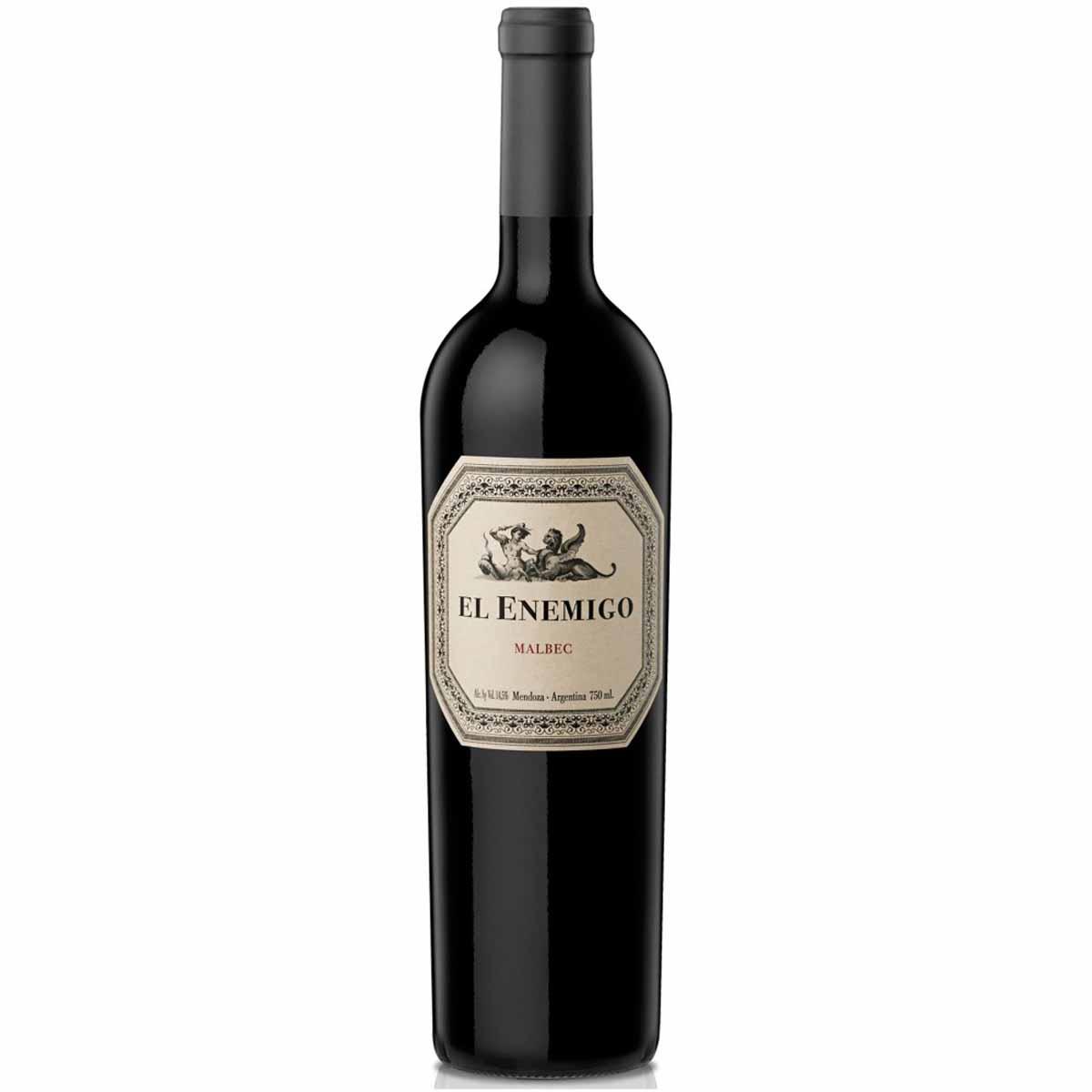 Vinho Argentino Tinto El Enemigo Malbec 2016 Catena Zapata