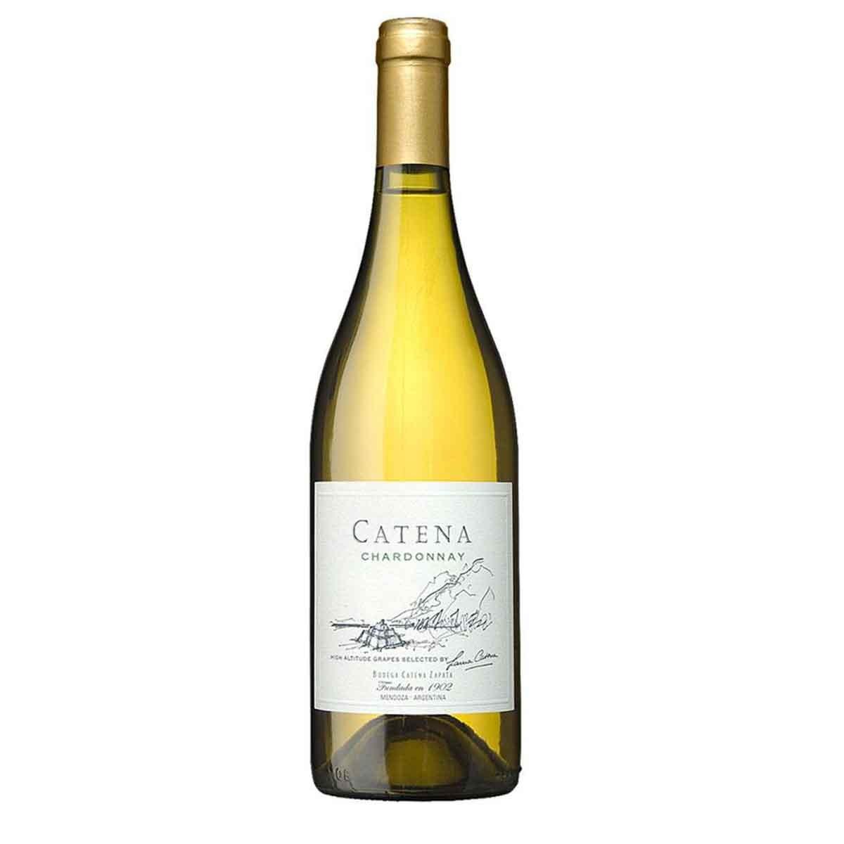 Vinho Branco Argentino Catena Zapata Cardonnay 2018 750ml