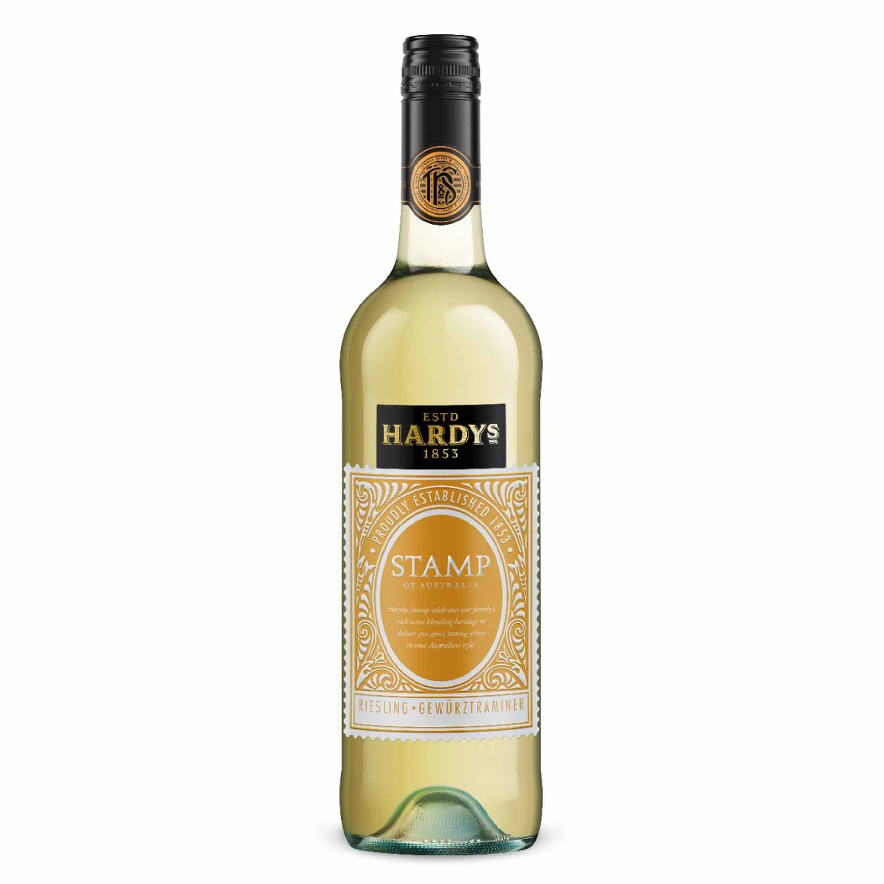 Vinho Branco Australiano Hardy's Stamp Riesling-Gewurztraminer 2014