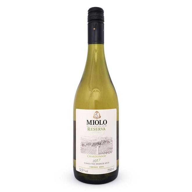 Vinho Branco Brasileiro Miolo Reserva Chardonnay 2017 750ml