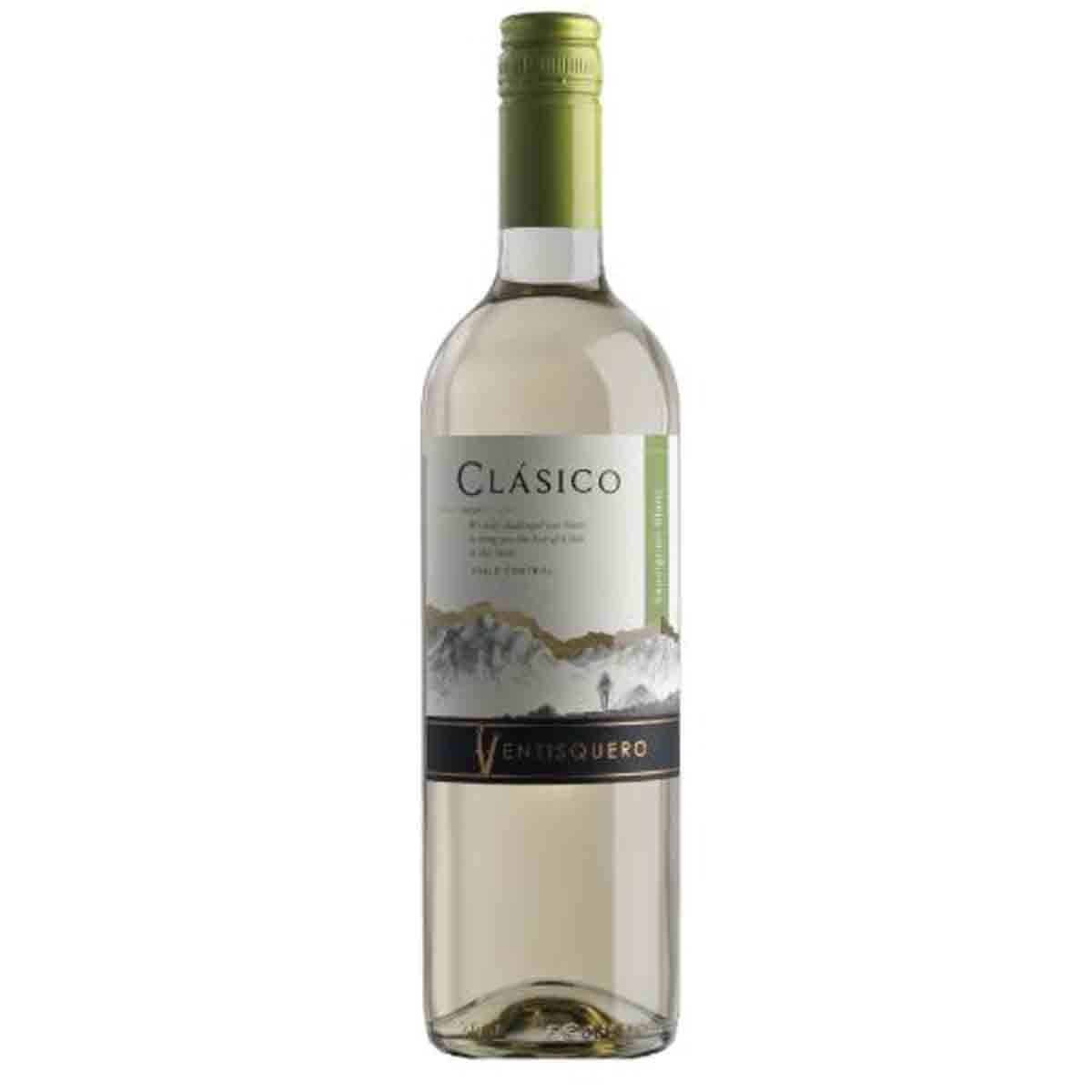 Vinho Branco Chileno Classico Ventisquero Sauvignon Blanc 2019 750ml