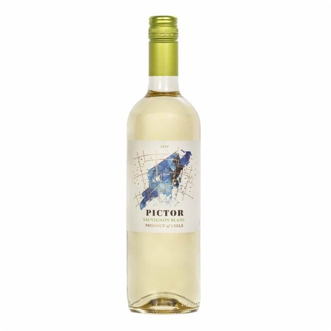 Vinho Branco Chileno Pictor Sauvignon Blanc 2016 750ml