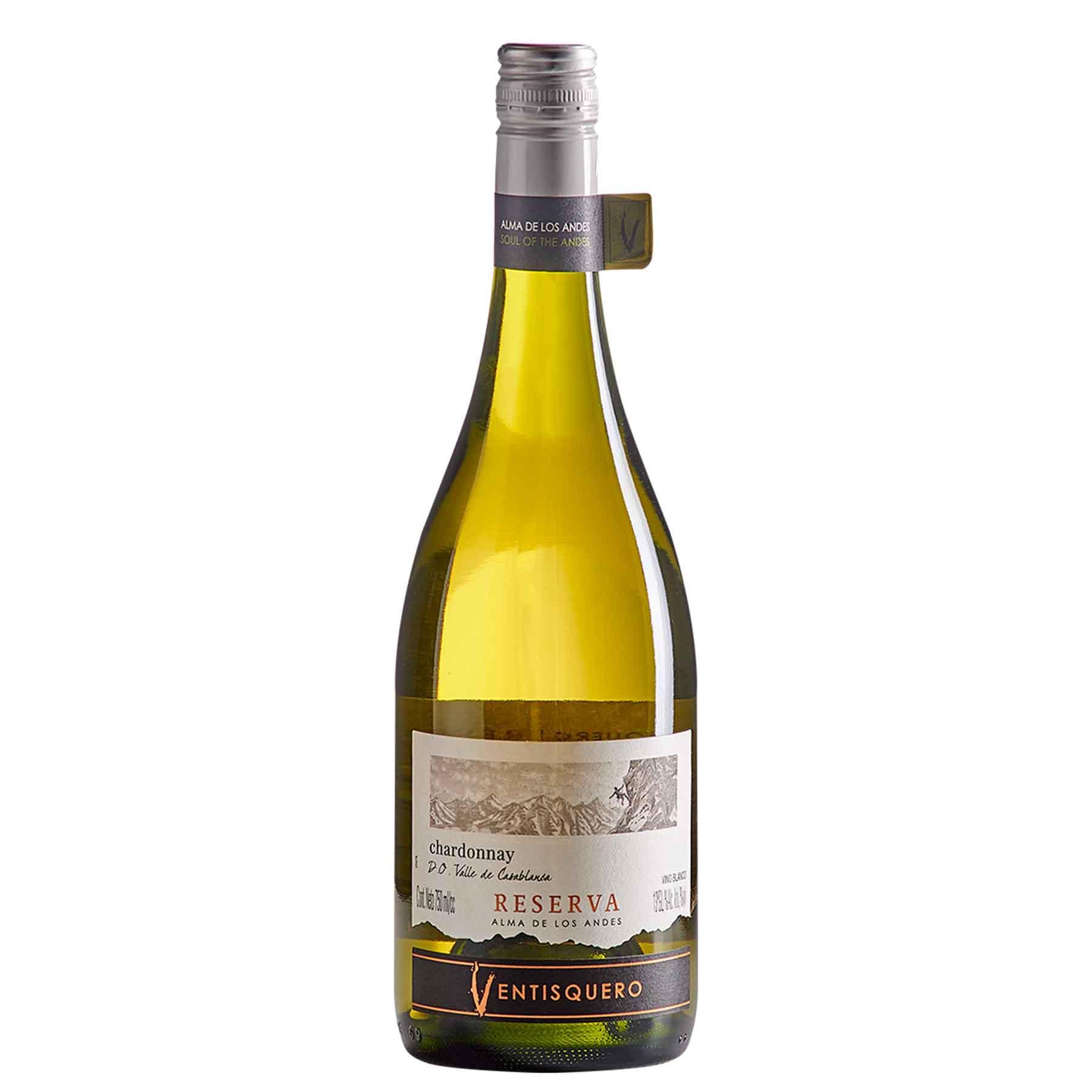 Vinho Branco Chileno Reserva Casablanca Chardonnay