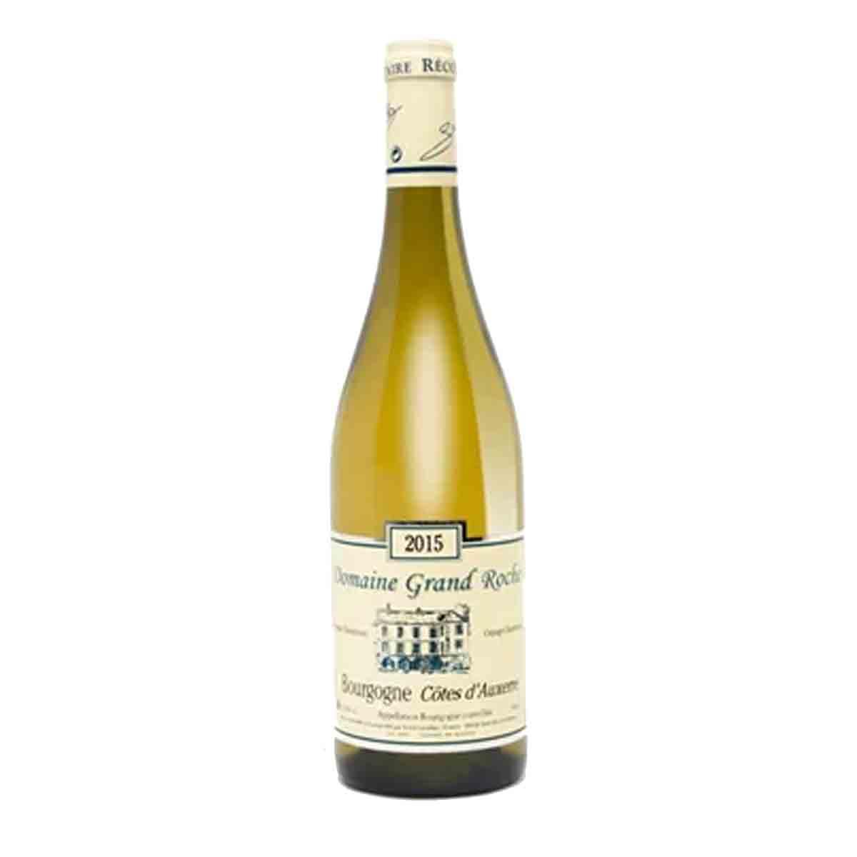 Vinho Branco França Bourgogne Chardonnay Domaine Grand Roche 750ml