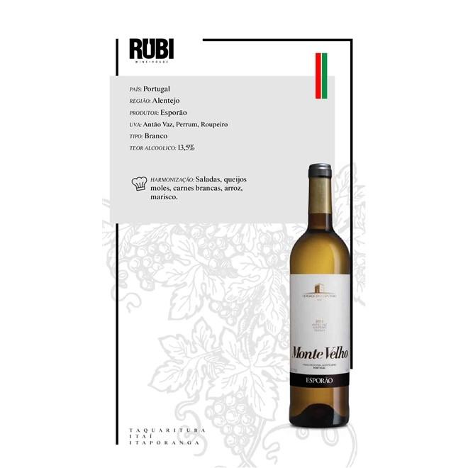 Vinho Branco Português Esporão Monte Velho 2018 750ml