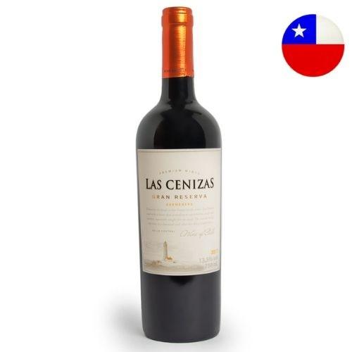 Vinho Chileno Las Cenizas Gran Reserva Carmenere 2018 750ml