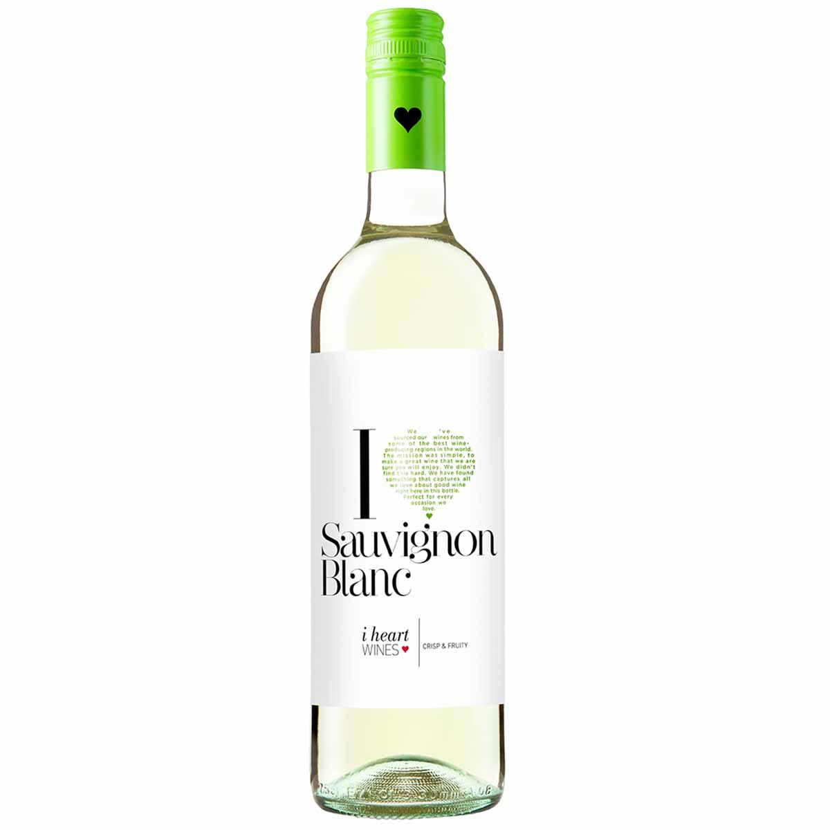Vinho Espanhol I Heart Branco Sauvignon Blanc 750ml