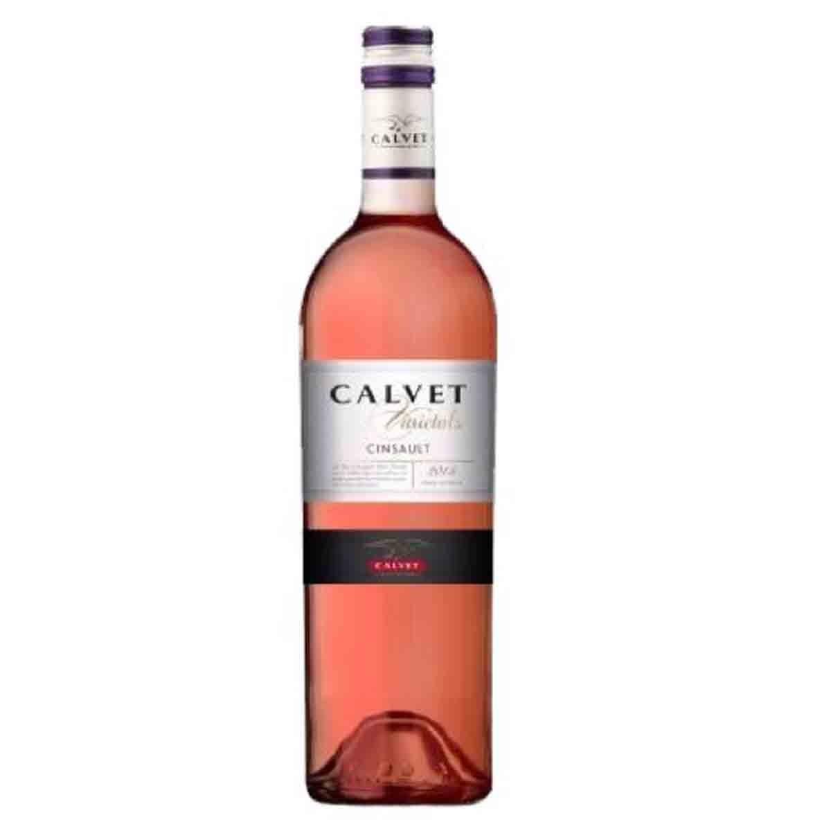 Vinho Francês Rose Calvet Cinsault 2018 750ml