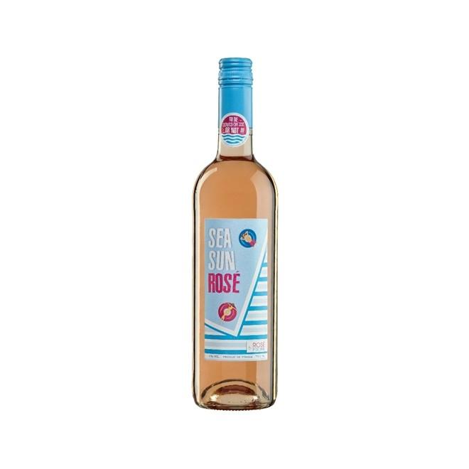 Vinho Frances Rose Piscine Sea Sun 750ml