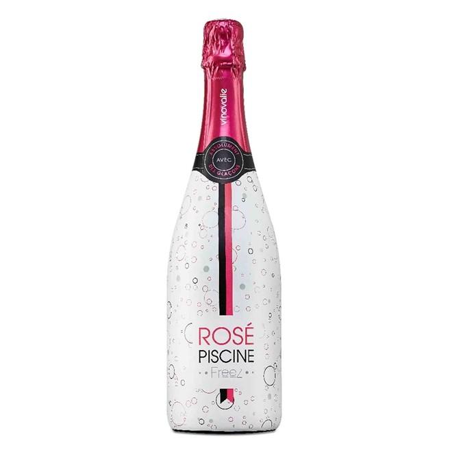 Vinho Italiano Rosé Espumante Piscine Moscato Rosso 750ml