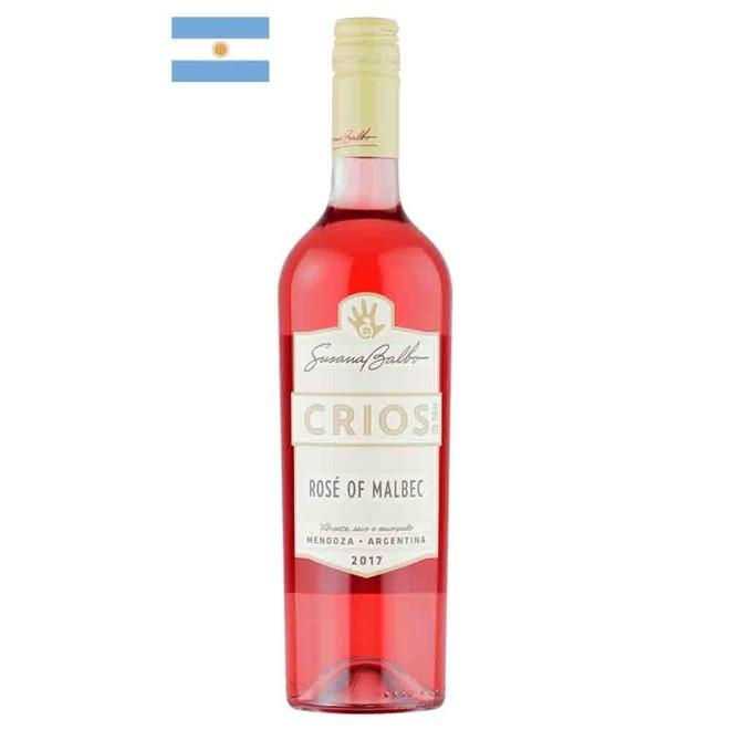 Vinho Rosé Argentino Susana Balbo Crios Malbec 2017 375ml
