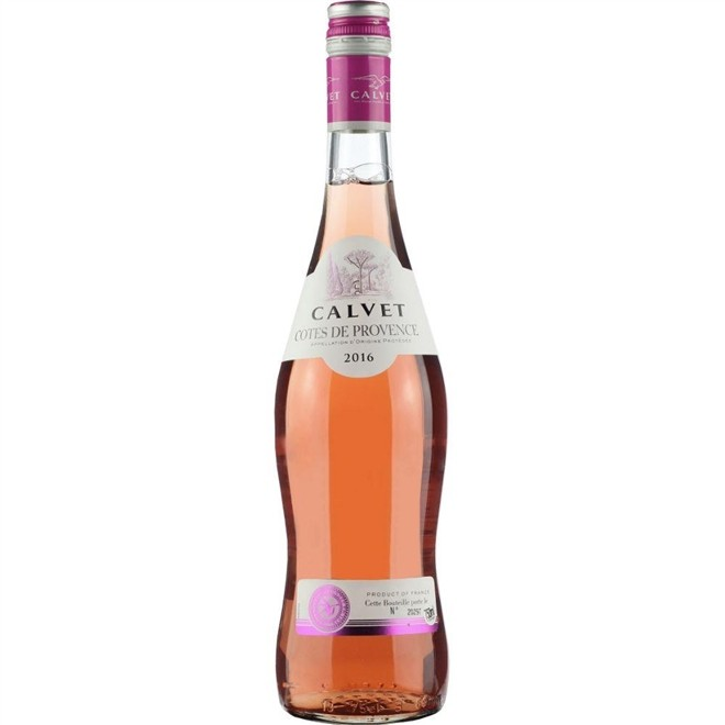 Vinho Rosé Francês Calvet Cotês de Provence 2018 750ml