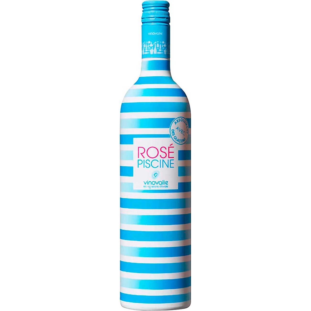 Vinho Rosé Francês Rosé Piscine Stripes 750ml