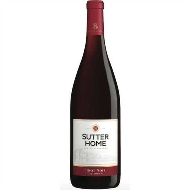 Vinho Tinto Americano Sutter Home Pinot Noir 2014 750ml