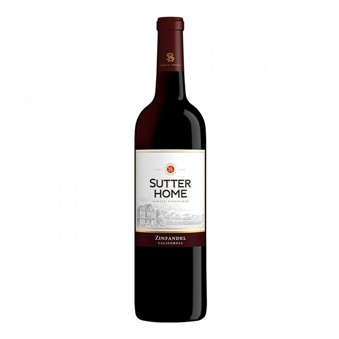 Vinho Tinto Americano Sutter Home Zinfandel 750ml