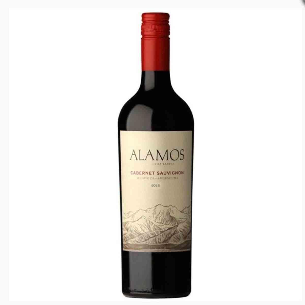 Vinho Tinto Argentino Alamos Cabernet Sauvignon 2018 Catena Zapata