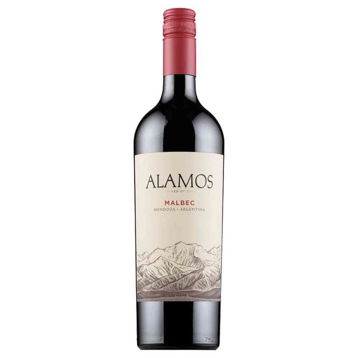 Vinho Tinto Argentino Alamos Malbec 2018 Catena Zapata