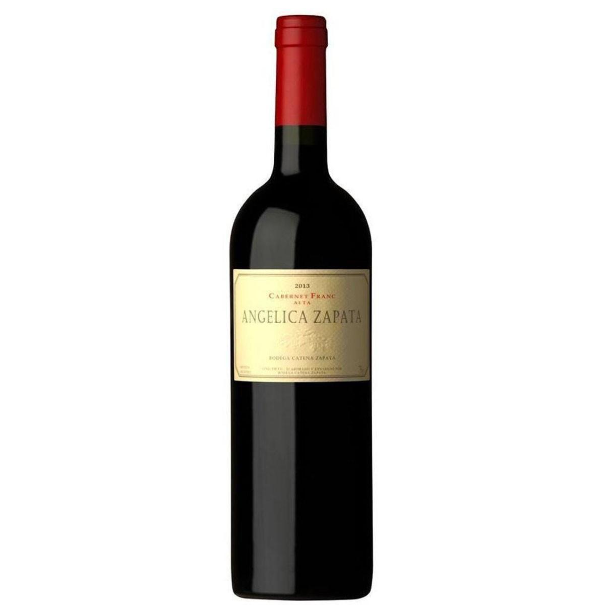 Vinho Tinto Argentino Angelica Zapata Cabernet Franc 2015