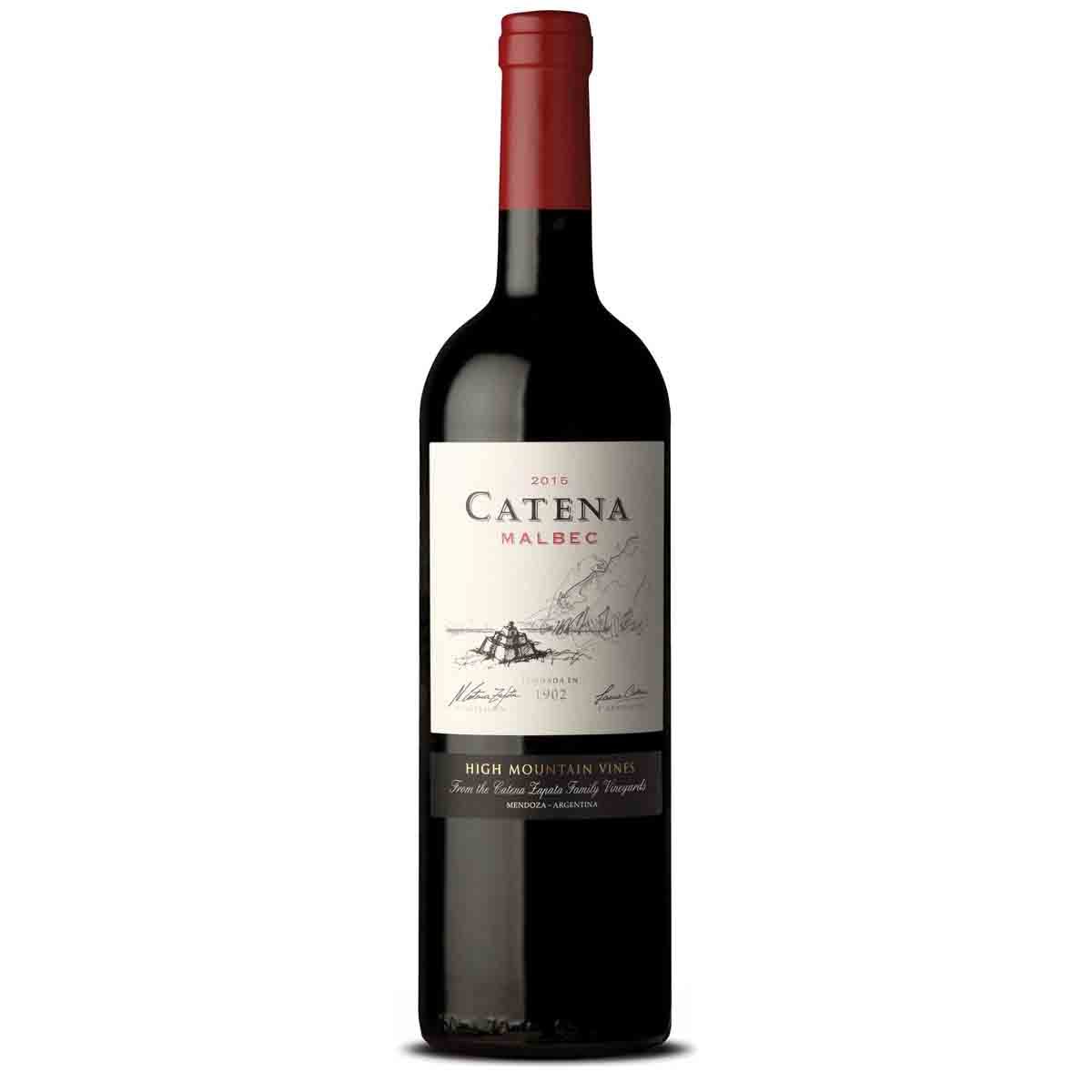 Vinho Tinto Argentino Catena Cabernet Sauvignon 2017 750ml