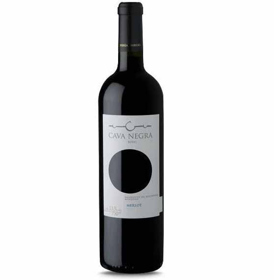 Vinho Tinto Argentino Cava Negra Merlot 2019