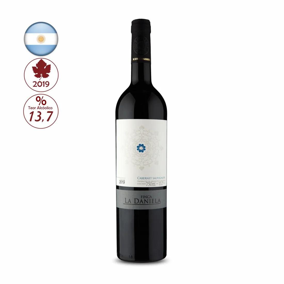 Vinho Tinto Argentino Finca La Daniela Cabernet Sauvignon 2019