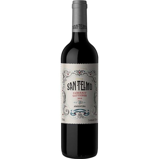 Vinho Tinto Argentino San Telmo Cabernet Sauvignon 2020