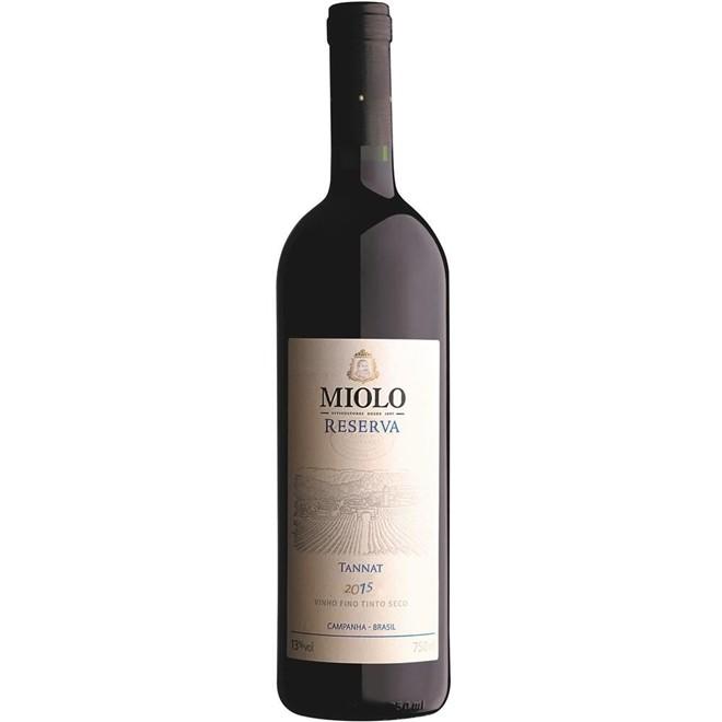 Vinho Tinto Brasileiro Miolo Reserva Tannat 2015 750ml