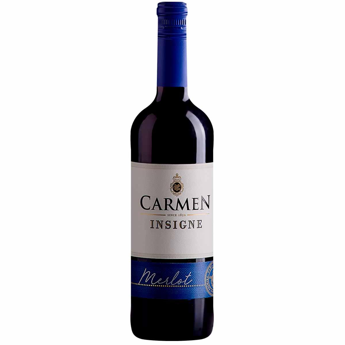 Vinho Tinto Chileno Carmen Insigne Merlot 2018 750ml