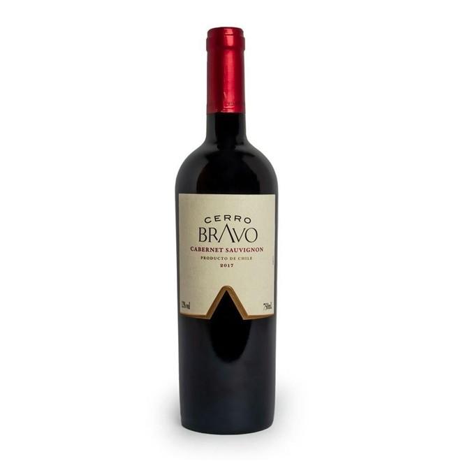 Vinho Tinto Chileno Cerro Bravo Cabernet Sauvignon2018 750ml