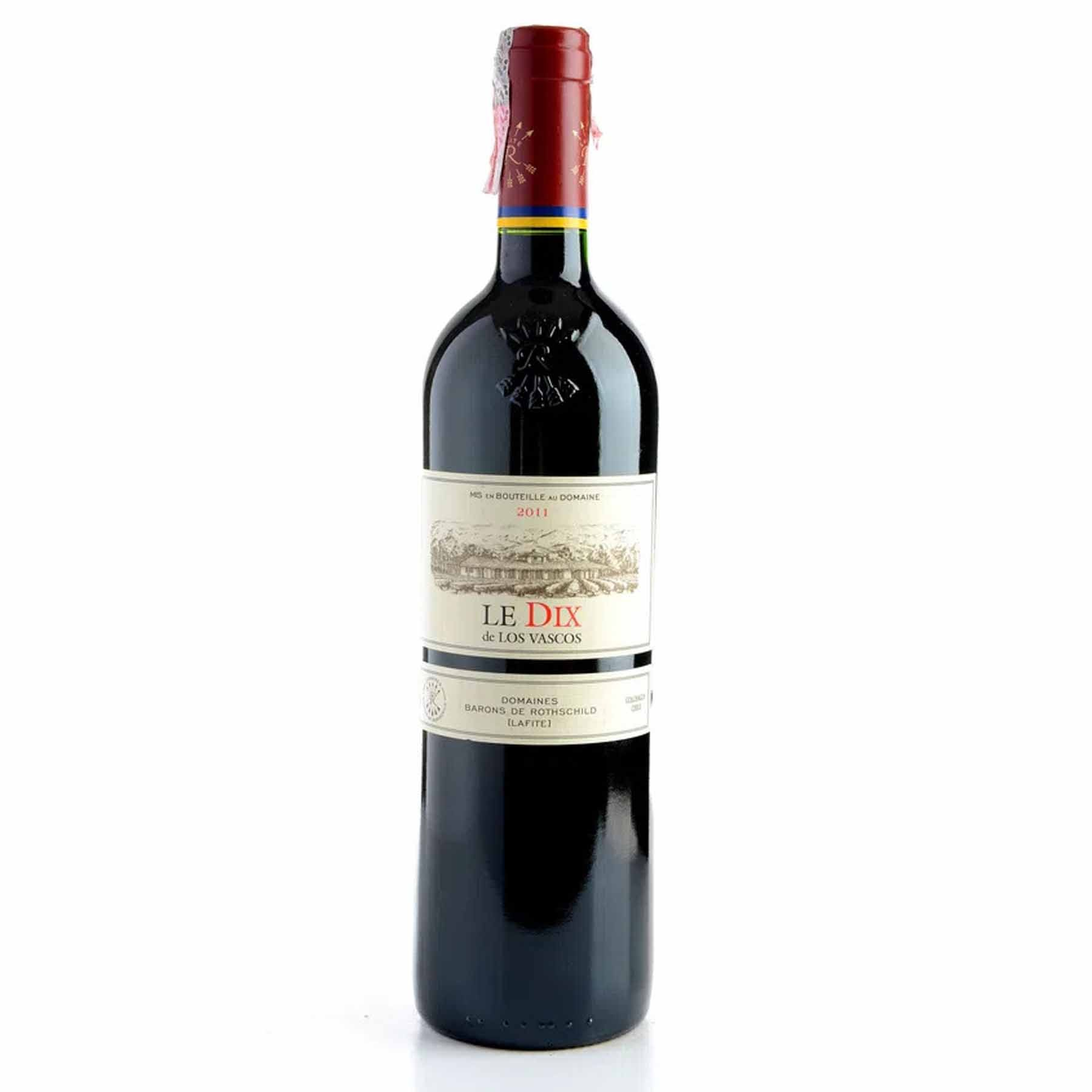 Vinho Tinto Chileno Los Vascos Lafite Rothschild Le Dix