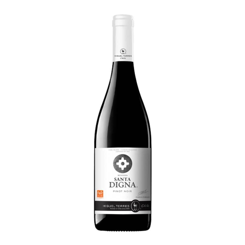 Vinho Tinto Chileno Miguel Torres Gran Reserva Santa Digna Pinot Noir 750ml 2017