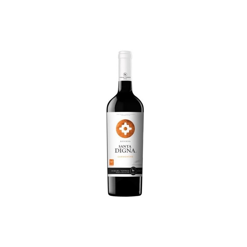 Vinho Tinto Chileno Miguel Torres Santa Digna Gran Reserva Carmenere 2018 750ml
