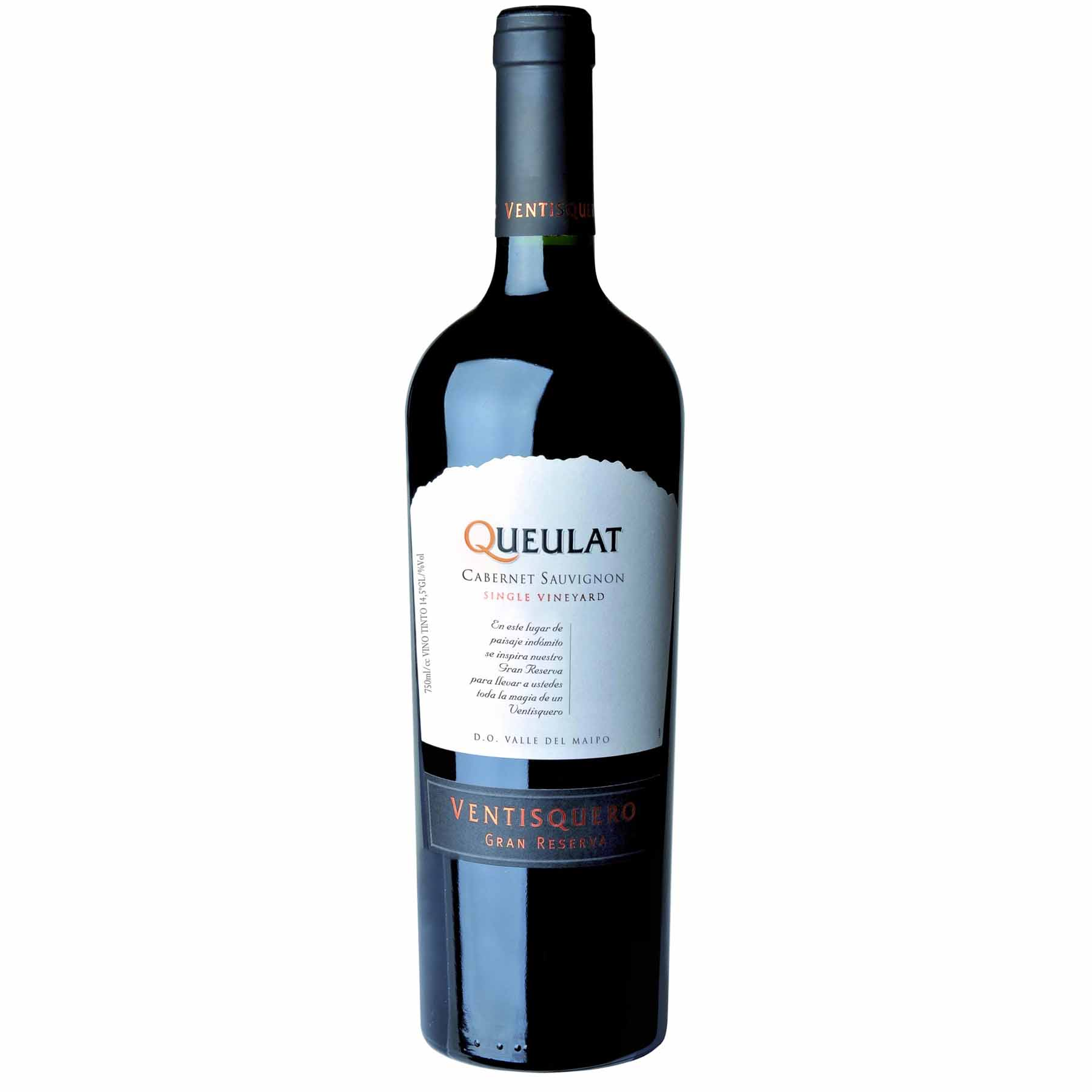 Vinho Tinto Chileno Queulat Gran Reserva Cabernet Sauvignon 2018