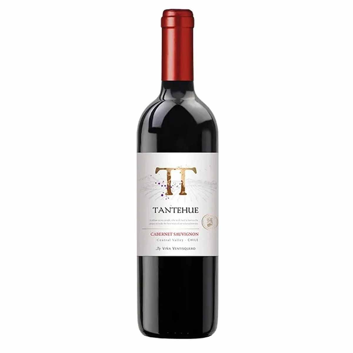 Vinho Tinto Chileno Tantehue Carmenere 750ml 2019