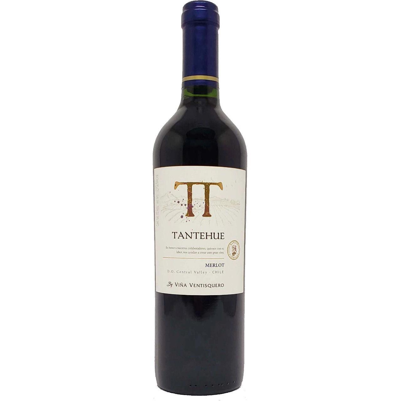 Vinho Tinto Chileno Tantehue Merlot 750ml 2019