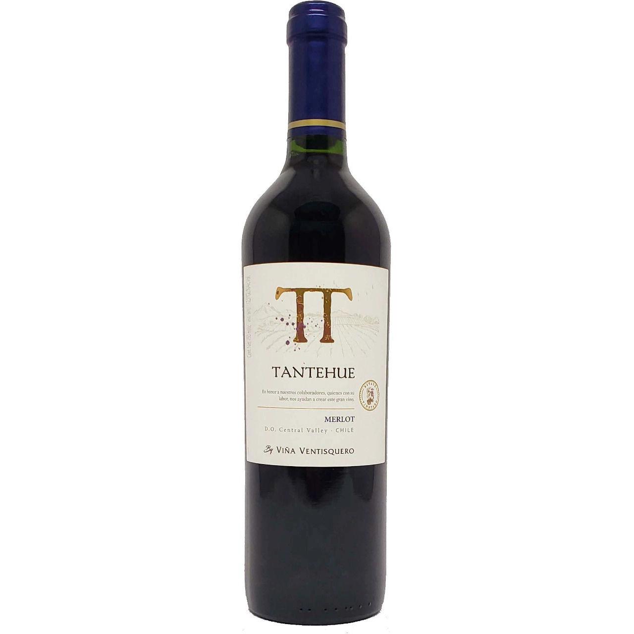 Vinho Tinto Chileno Tantehue Merlot 750ml 2020