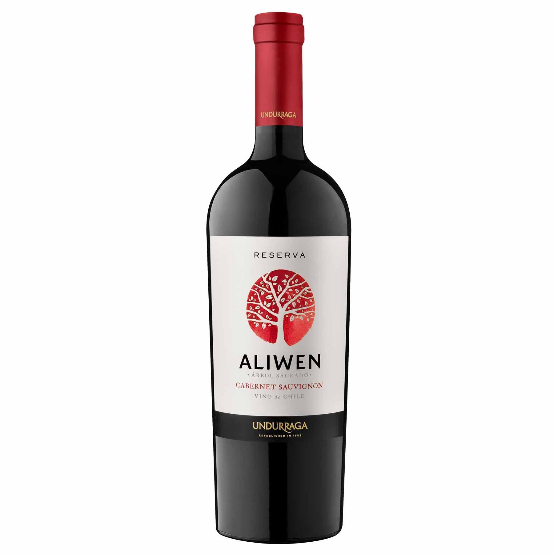 Vinho Tinto Chileno Undurraga Aliwen Reserva Cabernet Sauvignon 2014
