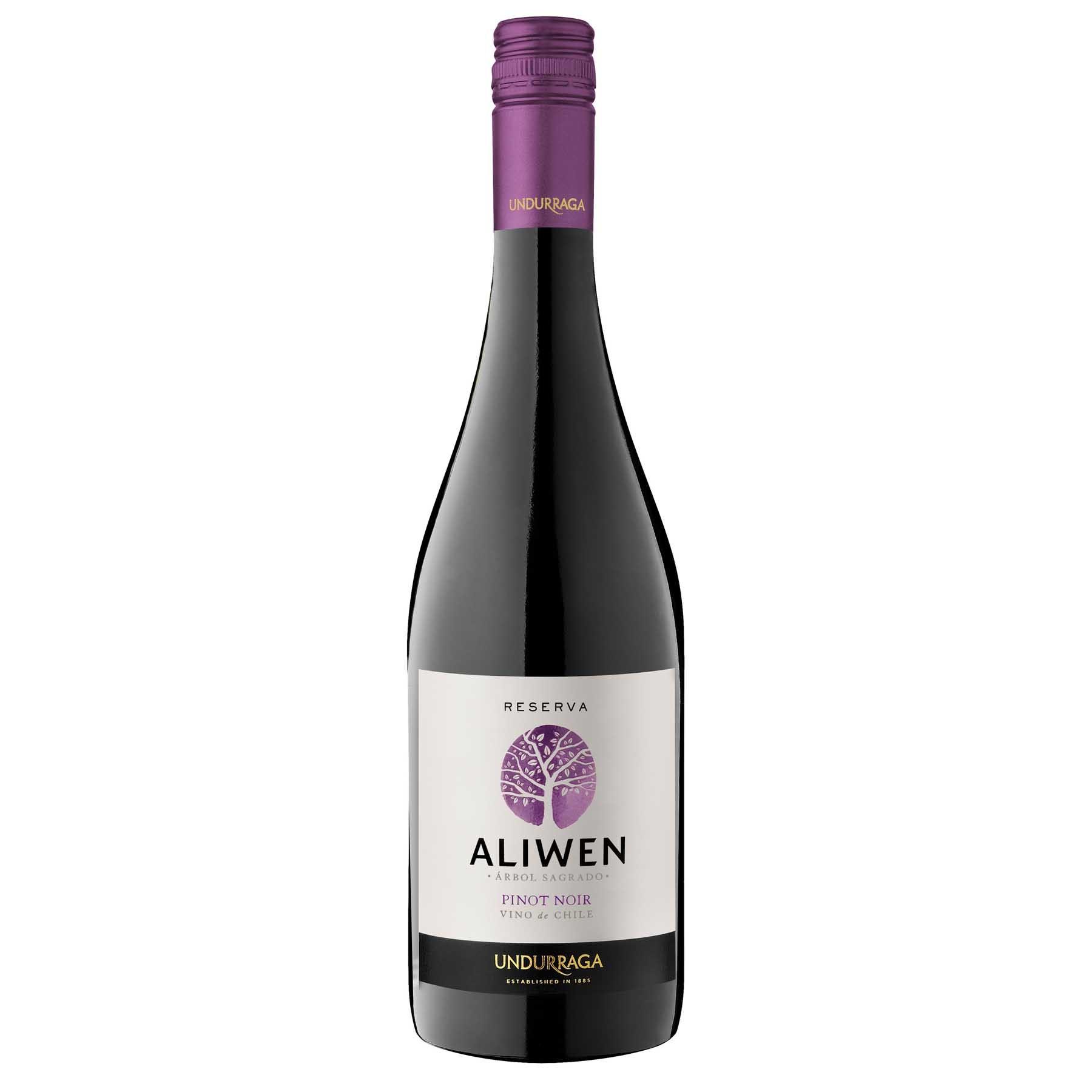 Vinho Tinto Chileno Undurraga Aliwen Reserva Pinot Noir 2014