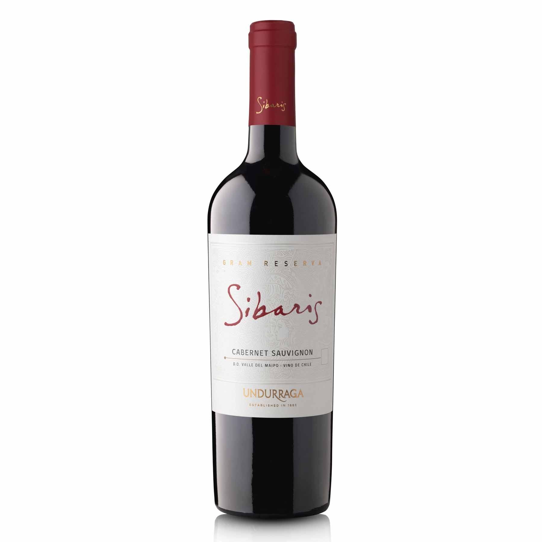 Vinho Tinto Chileno Undurraga Sibaris Gran Reserva Cabernet Sauvignon 2017