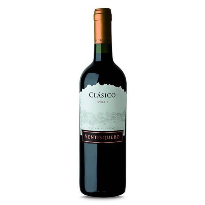 Vinho Tinto Chileno Ventisquero Clásico Syrah 2018 750ml