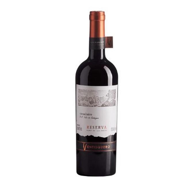 Vinho Tinto Chileno Ventisquero Reserva Alma de Los Andes Carmenere 750ml