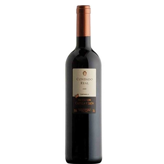 Vinho Tinto Espanhol Condado Real Tempranillo 750ml