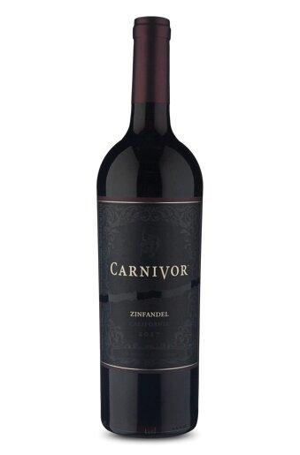 Vinho Tinto Estadunidense Carnivor Zinfandel 2017 750ml