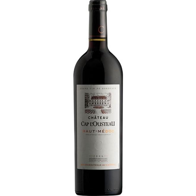 Vinho Tinto Francês Château Cap Lousteau 750ml