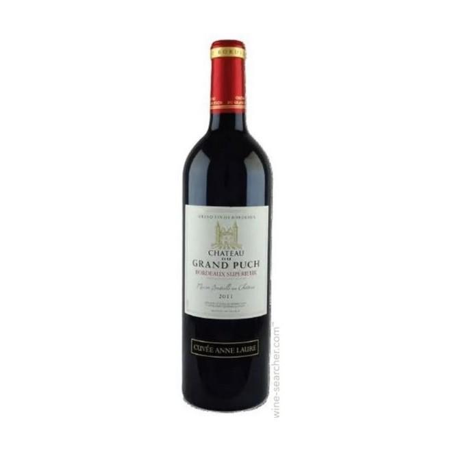 Vinho Tinto Francês Chateau Du Grand Puch Bordeaux Superieur
